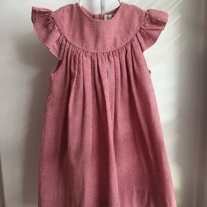 Toddler Girl Petit Ami Smocked Dress